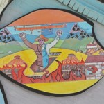 The Resurrection of Wesley Everest, Mural in Centralia WA, Mike Alewitz lead artist